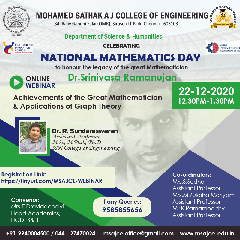 National-Mathematics-Day